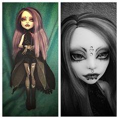 OOAK Monster High Repaint Fashion Art Doll Spectra | eBay
