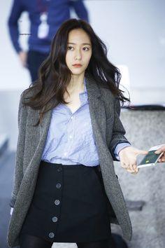 #Krystal #airportfashion