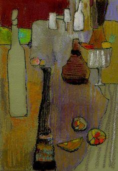 Pastel, nature morte...Garnier-fihey