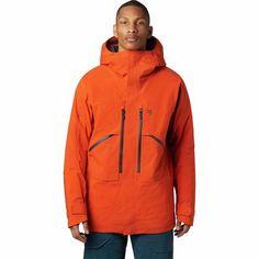 Winter Gear, Freestyle Skiing, Body Map, Mens Skis, Mountain Hardwear, Gore Tex, Hooded Jacket, Jacket Men