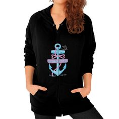 Now avaiable on our store: Southern Attitude... Check it out here! http://ashoppingz.com/products/southern-attitude-salty-anchor-womens-zip-hoodie?utm_campaign=social_autopilot&utm_source=pin&utm_medium=pin