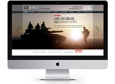 ArmourWorks are a leading brand with serious technological capabilities. Providing cutting edge services to the defence industry, they needed a site that demonstrated both product and core services in an efficient manner #website #webdesign #defence #armourworks