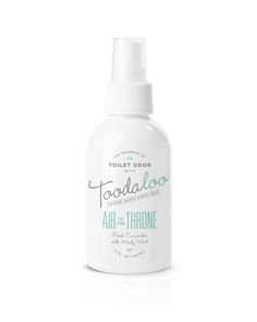 Toodaloo via @Matty Chuah Dieline AIR TO THE THRONE™At last, the porcelain seat of power is yours. But, before you launch your next offensive, order a preemptive spray of fresh cucumber and minty mint. After all, you don't want soil the family name.