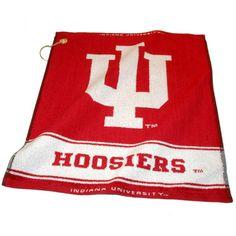 Indiana Hoosiers NCAA Woven Golf Towel