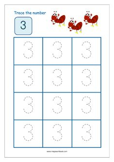 Number Tracing - Tracing Numbers - Number Tracing Worksheets - Tracing Numbers 1 to 10 - Writing Numbers 1 to 10 - MegaWorkbook Preschool Number Worksheets, Nursery Worksheets, Writing Practice Worksheets, Alphabet Tracing Worksheets, Numbers Kindergarten, Numbers Preschool, Learning Numbers, Numbers For Toddlers, Free Preschool