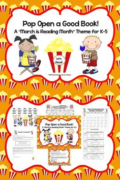 "IMPORTANT:  This is not a ""print and use right away"" kind of product!  You will have to do a little customizing to make these items work for you and your students/school.   I am a K-5 media specialist and it seems like every year I'm scrambling to come up with a school-wide reading theme for our annual ""March is Reading Month"".  I hope these ideas save you a little bit of time! $"