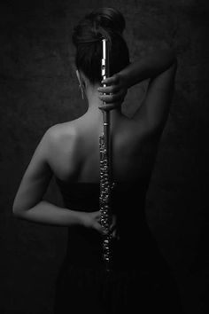 Beautiful photo. Who took this picture? Would love to give proper credit! | #flute #photography