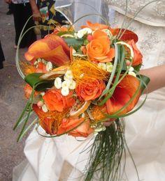 bouquet mari e 70 id es de fleurs pour mariage en automne mariage decoration et mariage. Black Bedroom Furniture Sets. Home Design Ideas
