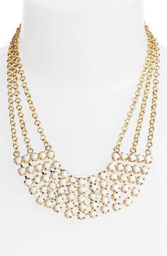 ShopStyle: Carole Chain & Facet Bib Necklace