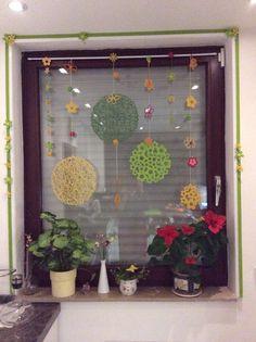 Fensterdeko für fröhliche Gemüter