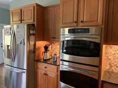 kitchen cabinet makeover diy Here at Eagle Painting, we can help you transform your kitchen with the upgrades you need for style, aesthetic appeal, and practicality. Kitchen Cabinets Kits, Kitchen Cupboard Doors, Old Cabinets, Kitchen Cabinet Colors, Painting Kitchen Cabinets, Kitchen Paint, Diy Kitchen, Upper Cabinets, White Cabinets