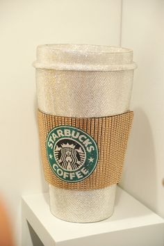 bling bling starbucks - This is how I always want to drink my coffee.