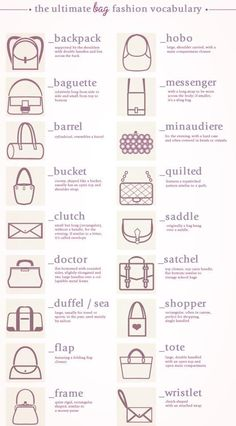 the ultimate bag vocab