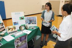 Upper School students attended a Service Fair, which gave them the chance to learn about various community service opportunities throughout the year. September 2013