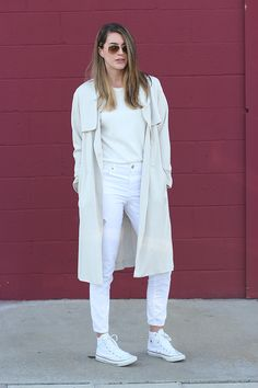 lightly coated - Thrifts and Threads beautiful combination of different shades of white!