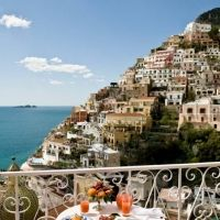 Room Service with a view at Le Sirenuse In Positano : Italian Allure Travel : Premier Concierge Travel Services in Italy