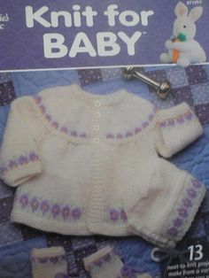 Annie's Attic KNIT FOR BABY Patterns #AnniesAttic