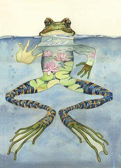 Frog by Daniel Mackie