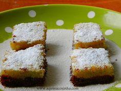 Tortinha diferente de limão siciliano