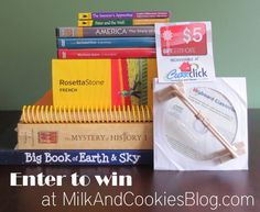 A back to school toolkit giveaway for homeschoolers!