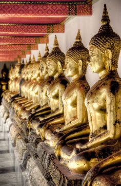 Wat Pho, Bangkok, Thailand http://www.theprivatetravelcompany.co.uk/destinations/thailand/
