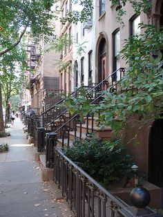 Love the brownstones in Greenwich Village