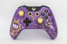 Custom Destiny Queen Xbox one controller by DevidedPursuits Playstation, Ps4, Nintendo Switch, Youtubers, Videogames, Custom Consoles, V Games, New Video Games, Xbox One Controller