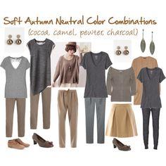 soft autumn polyvore | Soft Autumn Neutral Color Combinations - Polyvore