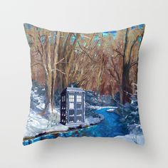 Frozen Tardis Doctor who Throw Pillow case @pointsalestore @society6threesecond #throwpillow #Pillow #PillowCase #PillowCover #CostumPillow #Cushion #CushionCase #PersonalizedPillow #Painting #Digital #Oil #Acrylic #Popart #Abstract #TardisDoctorWho #Tardisdoctorwho #Doctorwho #Doctorwho #Vangogh #Starrynight #Geek #Nerd #Davidtennant #Winter #Snow #Jungle #Christmas #snowday #snowfall #weekend #timetraveller