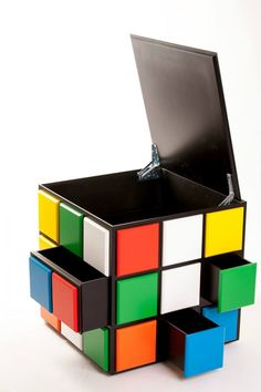 Cube - Coleman & Edwards Makers of Fine Furniture Cube Furniture, Modular Furniture, Furniture Plans, Kids Furniture, Game Room Furniture, Furniture Makers, Gaming Furniture, Smart Furniture, Furniture Assembly