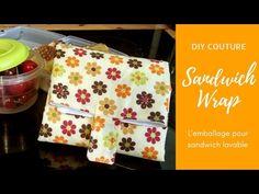 Coudre un wrap à sandwich lavable - YouTube