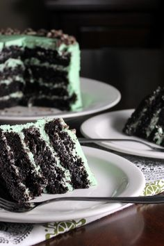 Andes Mint Cake, go to the bottom of the page for this recipie