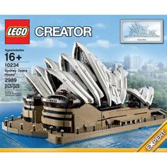 LEGO Creator Expert 10234 Sydney Opera House (Retired) Brand New and Sealed Lego Creator Sets, The Creator, Model Building Kits, Building A House, Legos, Sydney Opera, Apple Store, Best Lego Sets, United Nations Headquarters