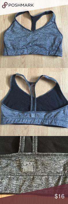 Victoria's Secret sports bra size mm grey/black Victoria's Secret sports bra size mm grey/black Victoria's Secret Intimates & Sleepwear Bras
