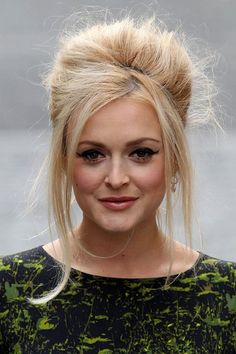 Fearne Cotton's Brigitte Bardot bouffant at the Very Fashion Week launch - Hair Do's & Don'ts brought to you by Glamour.com. Visit Glamour.com for the latest dos and don'ts for hairstyles, with celebrity photos.