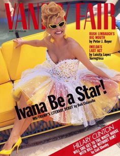 Ivana Trump in Bob Mackie 1992 Vanity Fair