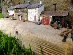 """""""The Old Smithy"""" by Trysorau Cymraeg. Welsh art hand made from driftwood and recycled materials."""
