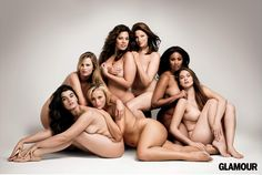 """plus size models!"" - beauty comes in many shapes"
