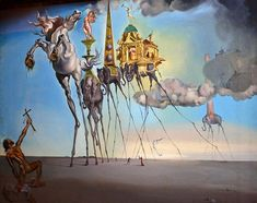 The Temptation of Saint Anthony Salvador Dali 1946 http://ift.tt/2F68M98