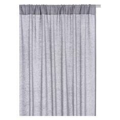 KITA Pair of grey curtains 140 x 230cm | Buy now at Habitat UK