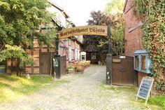 Ein Tag geh ich zu Deutschland nach mal. Historischer Biergarten im Kartoffel-Hotel