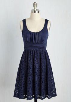 Artisan Iced Tea Dress in Blueberry, @ModCloth