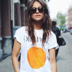 #eyelove #ganni #orange