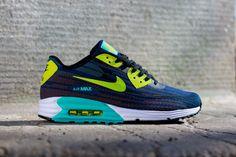 newest 3ee2b 3ce43 NIKE AIR MAX LUNAR 90 JACQUARD (BRAVE BLUE)   Sneaker Freaker Nike Huarache,