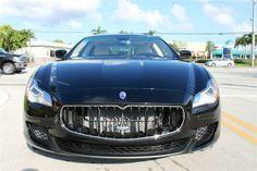 2014 Maserati Quattroporte SportGTS Sport GT S 4dr Sedan Sedan 4 Doors Black for sale in Fort lauderdale, FL Source: http://www.usedcarsgroup.com/used-maserati-quattroporte-for-sale