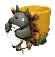 Deliver good Korasho of Totoro Ghibli planter Cover Totoro Ghibli – JTHS ~Japan Toys and Hobbies Store~ Studio Ghibli, Anime Puppy, Japan Crafts, Polymer Clay Animals, My Neighbor Totoro, Hayao Miyazaki, Art Sketchbook, Art Techniques, Clay Art
