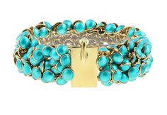 I'm in love with Kathrine Lindman's design. Turquoise Bracelet, Teal, Bling, Bracelets, Jewellery, Design, Products, Jewel, Jewels