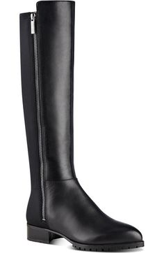 Nine West 'Legretto' Riding Boot (Women) available at #Nordstrom
