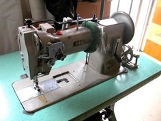 Pfaff 146 H3 Walking Foot with Reverse Upholstery Sewing Machine K Leg Table EP #Pfaff