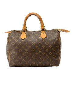Louis Vuitton Speedy 30 - this was one of the very first Lvs I bought all by myself! :) such a great size too. -Victoria